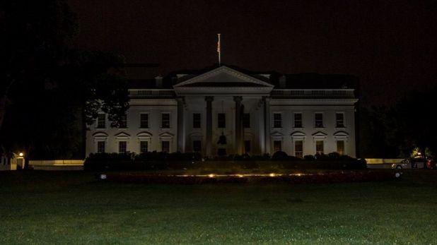 donald trump branded bunker boy, White House पहुंची विरोध की आग, ट्रंप को बेसमेंट में ले जाना पड़ा, अब लोग कह रहे BunkerBoy