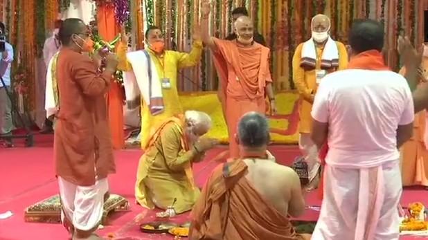 Ram Mandir Bhoomi pujan in Ayodhya seen in whole world, पूरी दुनिया में बढ़-चढ़ कर देखा गया अयोध्या में राम मंदिर का भूमि पूजन, US-UK से सबसे ज्यादा व्यूअरशिप