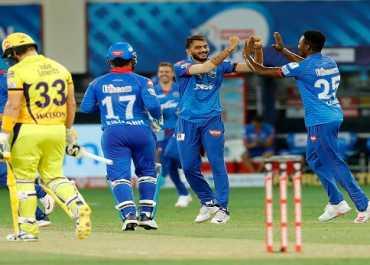 IPL 2020 DC vs CSK: दिल्ली की चेन्नई पर शानदार जीत, 44 रन से हराकर टॉप पर पहुंची