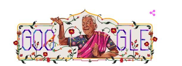 Zohra Sehgal Doodle Image