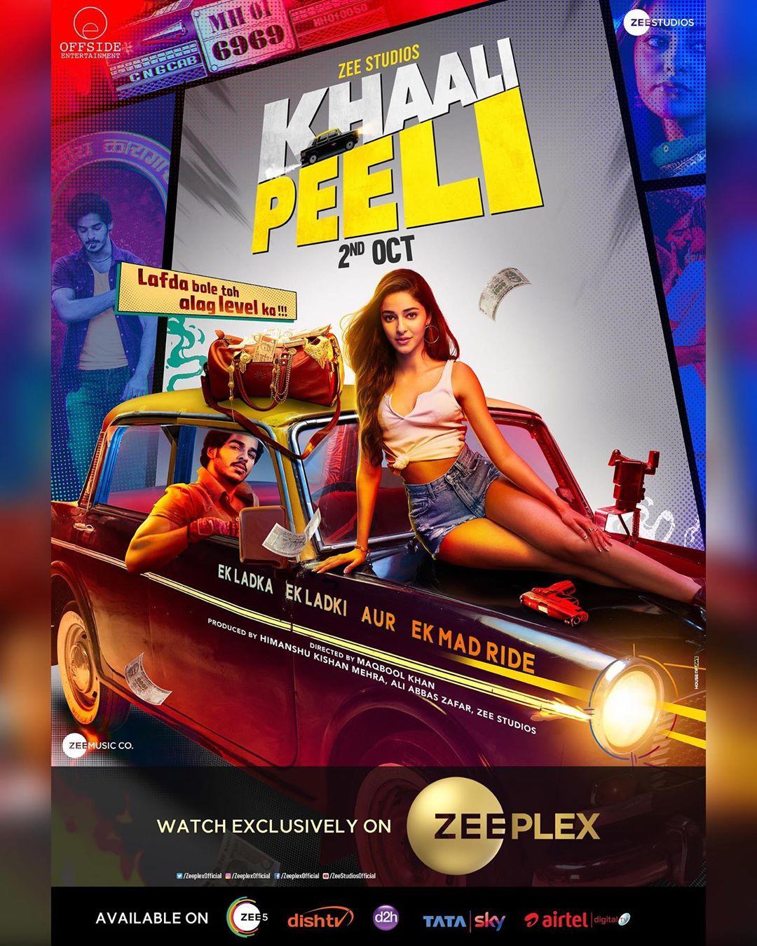 Khali Peeli Poster