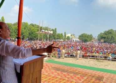 Bihar Election: क्रिकेट में सचिन-सहवाग की सुपरहिट जोड़ी की तरह है BJP-JDU गठबंधन- राजनाथ