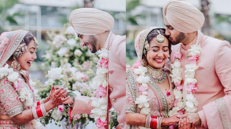 नेहा कक्रड़ रोहनप्रीत शादी की तस्वीरें