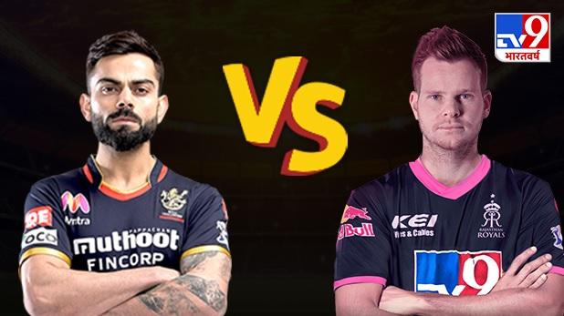 tv9 bharatvarsh poll on today match between rajasthan royals vs royal challengers bangalore ipl 2020