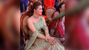 urvashi in wedding