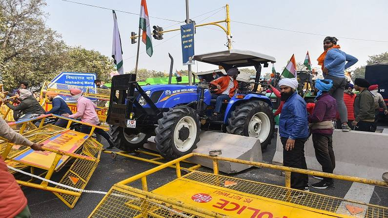 Farmers Protest 1