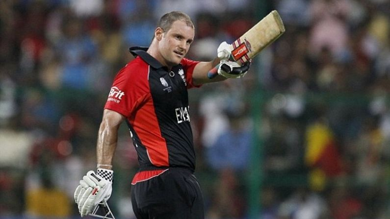Andrew Strauss vs India 2011 World Cup