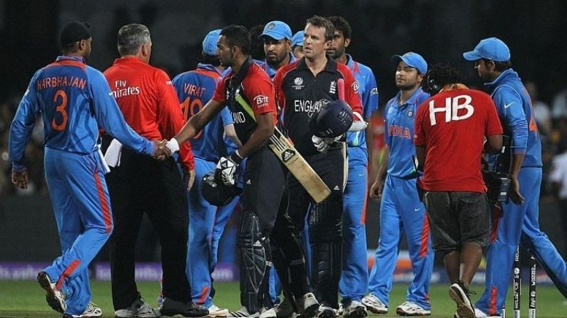 India Vs England 2011 Match Tied