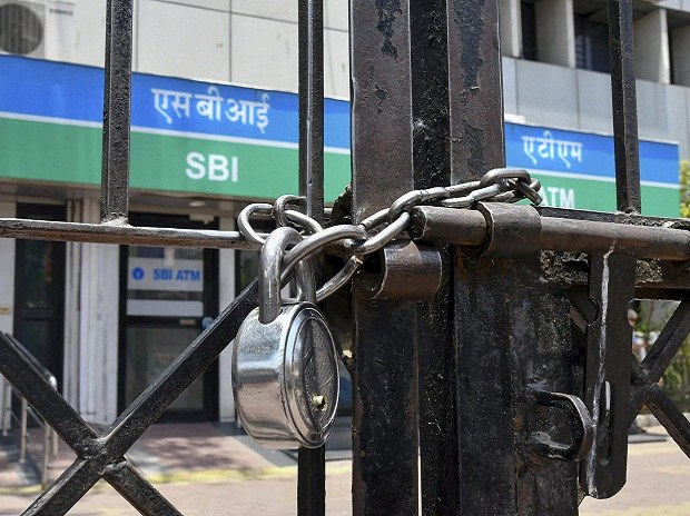 A Closed Sbi Branch As The Bank Employees Went On A Two Day Nationwide Strike To Press For Wage Revision In Bhopal On Wednesday May 30 2018 1527684780 58652430