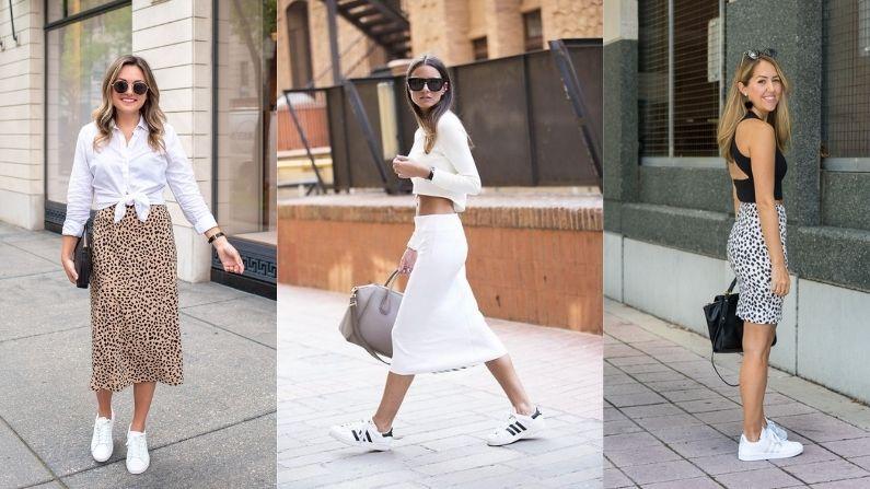 Skirt Sneakers