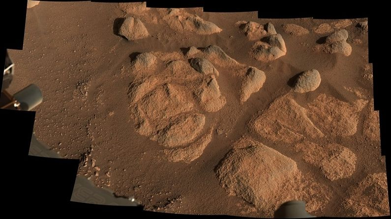 Nasa's Perseverance Rover Rock Images (1)