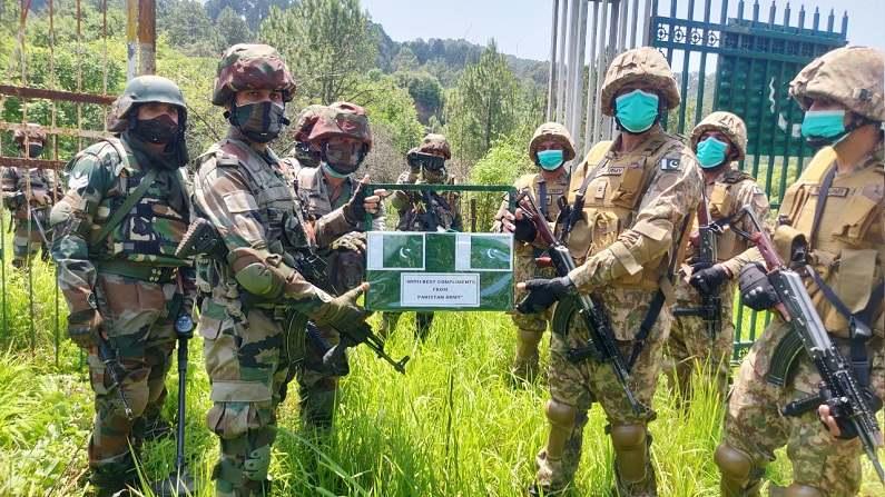 Indian Army Pakistan Army