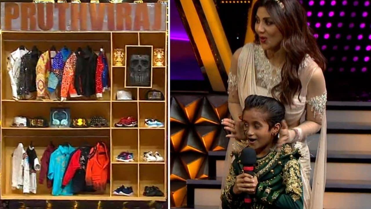 Shilpa Gift To Prithvi Min